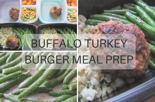 Buffalo Turkey Meal Prep