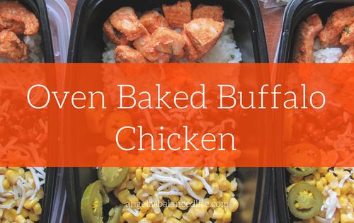 Oven Baked Buffalo Chicken