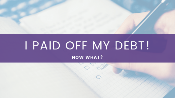 Paid Off My Debt!