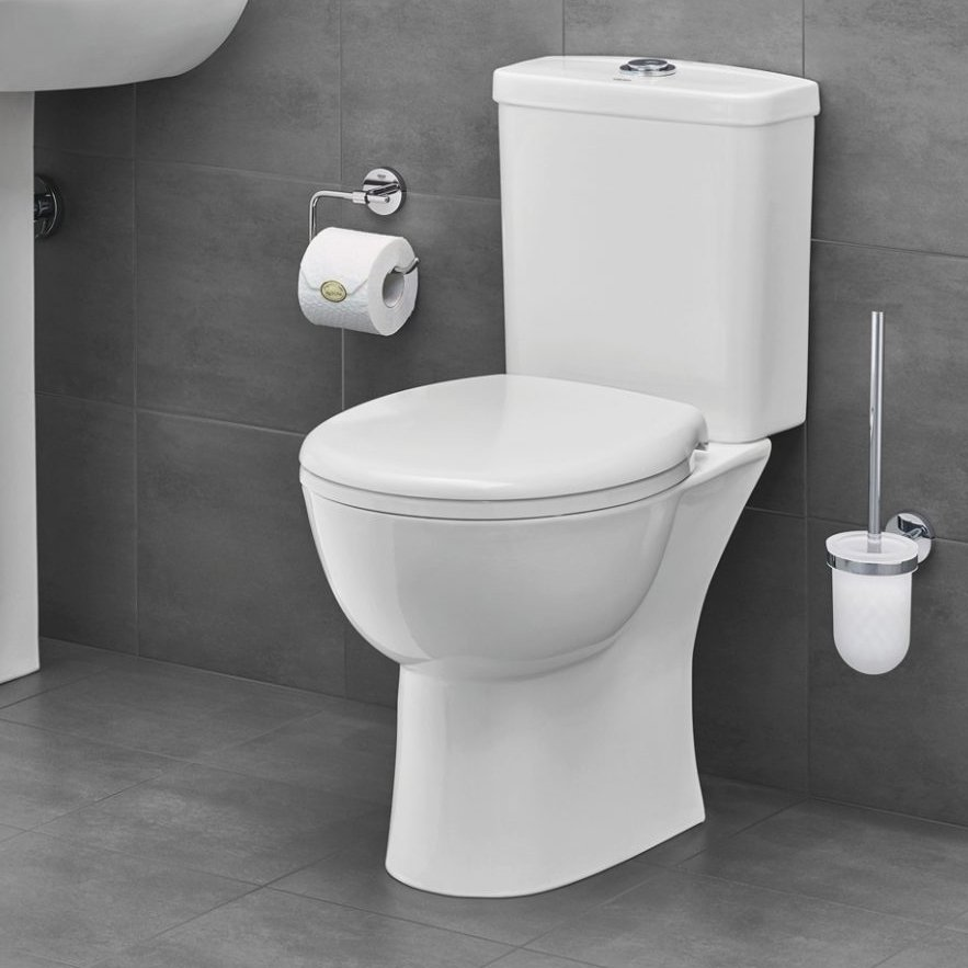 Grohe Rimless Close Coupled Toilet  Soft Close Seat