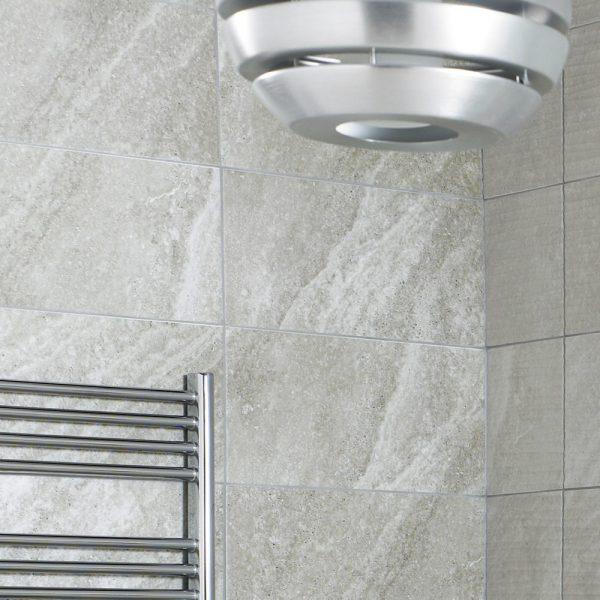 ditto diana grey ceramic wall bathroom tiles 248x498 box of 8