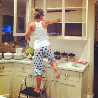 cleaning kitchen cabinets 42 inch how to paint follow these easy tips clean before painting