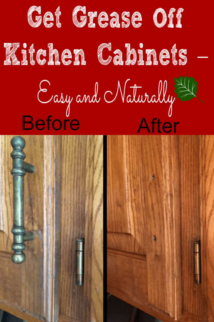 How do you clean grease off wooden cabinets for Best cleaner for greasy wood kitchen cabinets