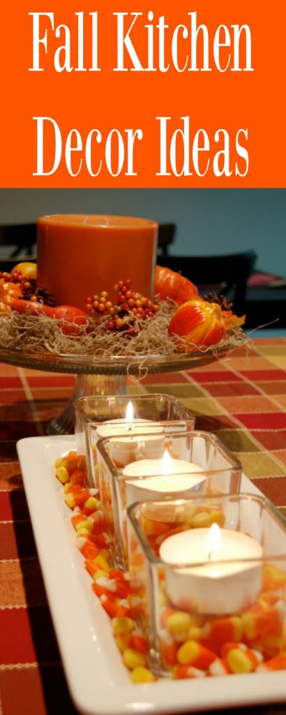 fall kitchen decor aid stand up mixer ideas decorate with pumpkins gourds and foliage pin