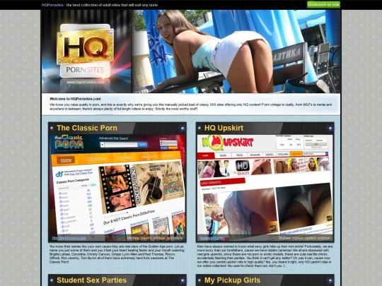 HQ Porn Sites