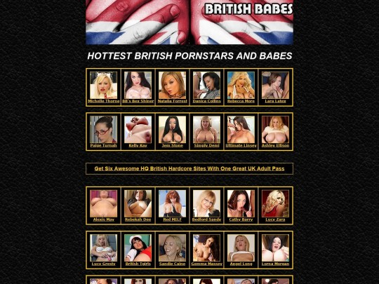 British Pornstars