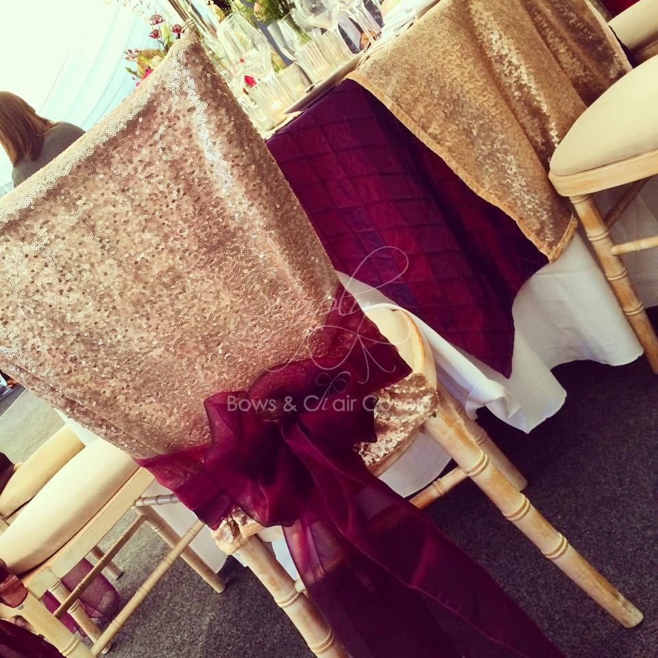 sequin chair covers uk browning camp wedding design ideas organza bows hire simply click to enlarge