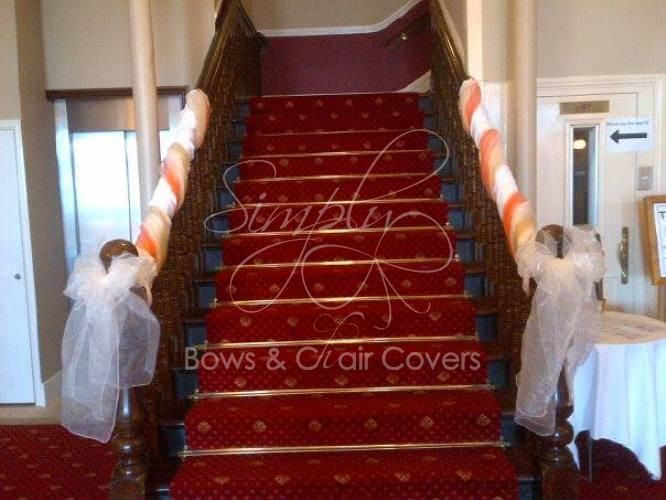 simply bows and chair covers newcastle steel frame suppliers wedding planning lancashire - gallery north euston hotel, fleetwood ...