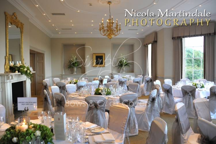 simply bows and chair covers newcastle restaurant chairs wedding planning harrogte & west yorkshire - gallery rudding park ...