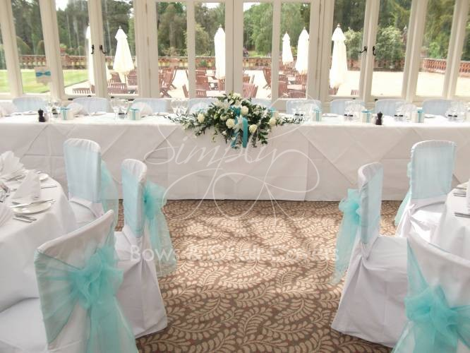 simply bows and chair covers newcastle red metal dining chairs wedding planning berkshire - gallery the elvetham hotel ...