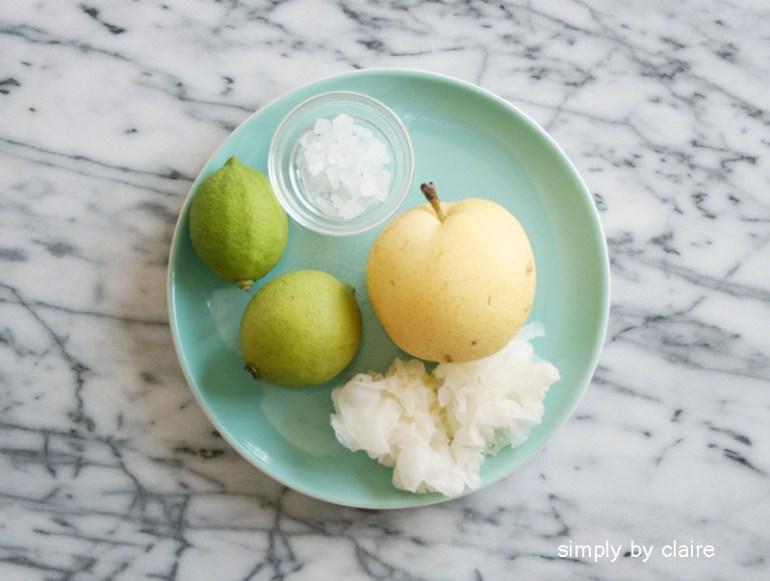 水梨白木耳汁
