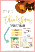 Free thanksgiving printable downloads
