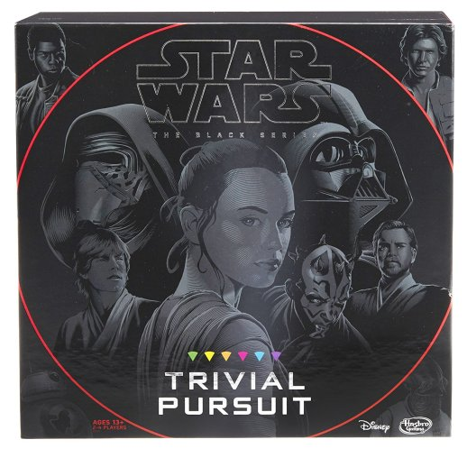 Best gifts for Star Wars fans - Trivial Pursuit: Star Wars The Black Series Edition