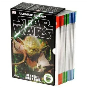 Best gifts for Star Wars Fans - Star Wars: Ultimate Library Box Set with 20 Volumes for Early Readers Level 1-3 in Slipcase