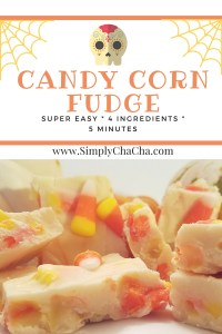 5 Minute {Microwave} Candy Corn Fudge