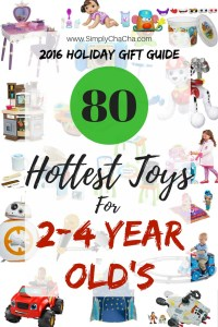 80 Hottest Toys For 2-4 Year Old Kids {2016 Holiday Gift Guide}
