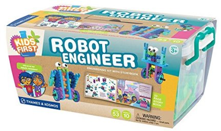 HOLIDAY GIFT GUIDE 2016 STEM TOYS FOR TODDLERS Kids First Robot Engineer Kit and Storybook