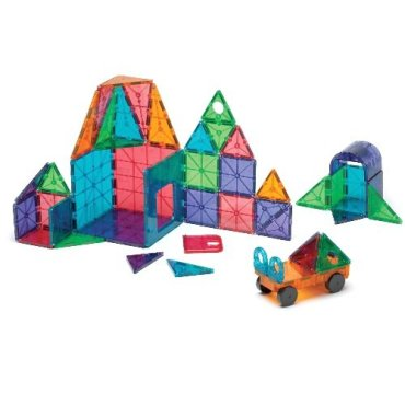 HOLIDAY GIFT GUIDE 2016 STEM TOYS FOR TODDLERS Magna-Tiles 12148 Clear Colors 48 pc DX set Toy