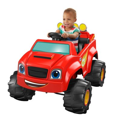 Holiday Gift Guide - Ages 2-4 powerwheels bickelodeon Blaze monster truck