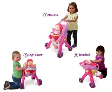 Holiday Gift Guide - Ages 2-4 VTech amaze 3 in 1 care learn stroller