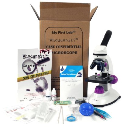 HOLIDAY GIFT GUIDE 2016 - STEM TOYS FOR TODDLERS: My First Lab Whodunnit? Forensic Microscope Kit