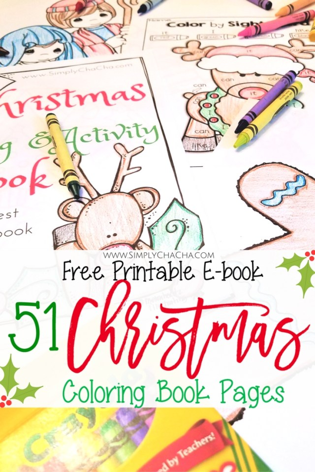51 Of The Best Christmas Coloring Book Pages Free Printable Ebook