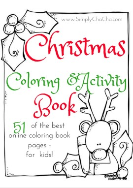 51 of the Best Christmas Coloring Book Pages (Free Printable EBook ...