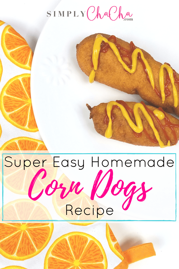 Super Easy Homemade Corn Dogs Recipe Cover Photo