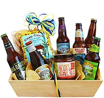 beer gift baskets with