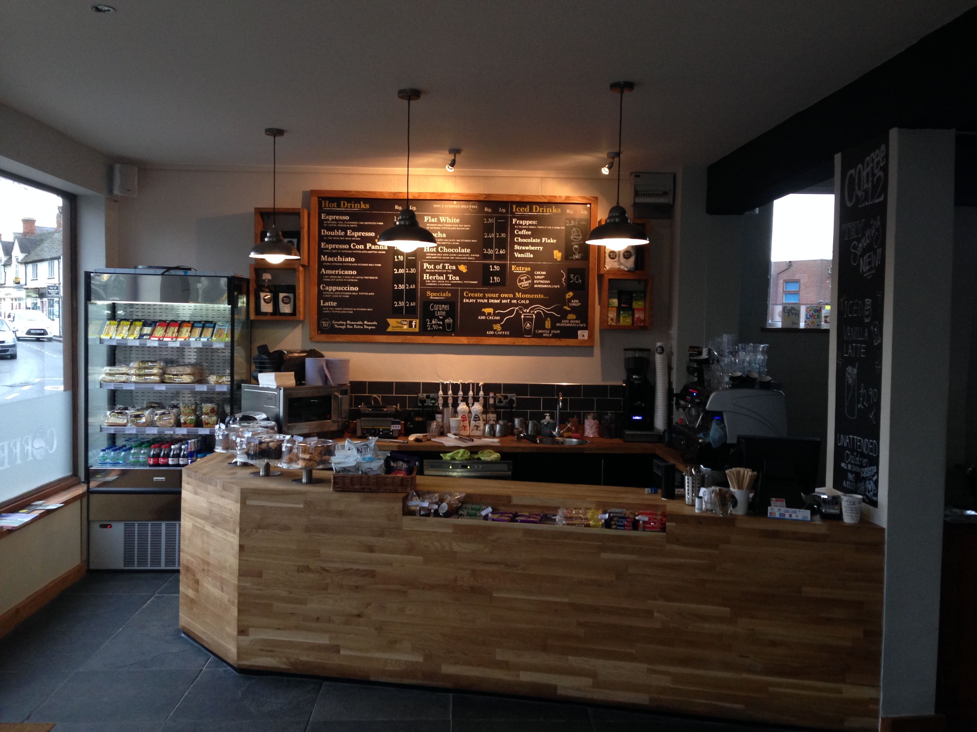 Specialists in shop fitting, cafe refurbishment, counter manufacture & coffee shop design nationwide