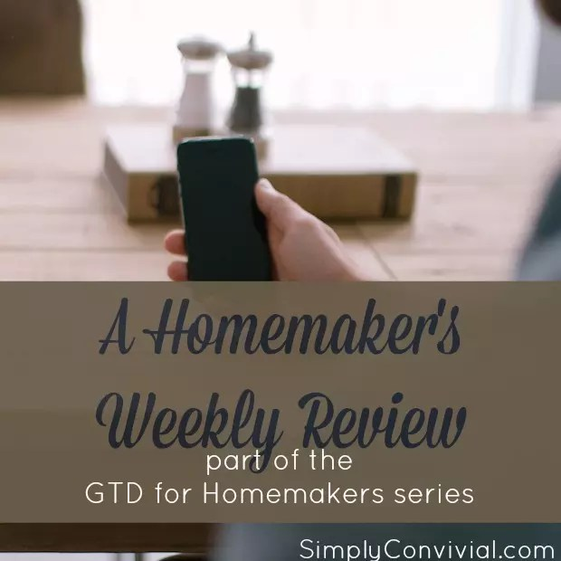 homemaker-weekly-review