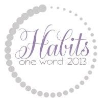 OneWord2013_Habits