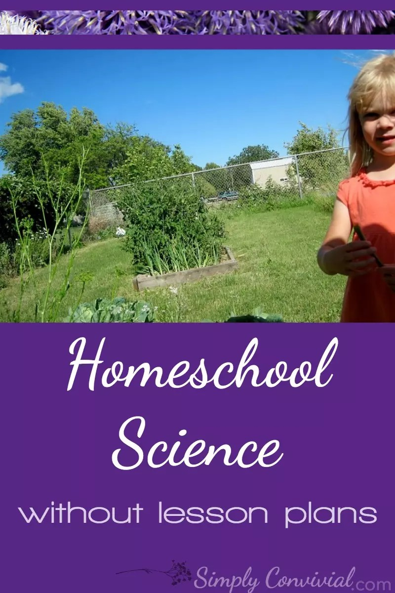 Homeschool science doesn't have to take a lot of materials, time, or energy. Here's how we do elementary science, simply.