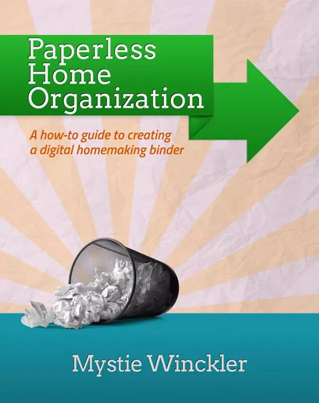 Paperless Home Organization will teach you how to use your devices so you never lose a list again.