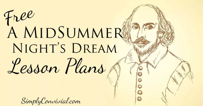 hakespeare for Kids: A Midsummer Night's Dream » Simply Convivial