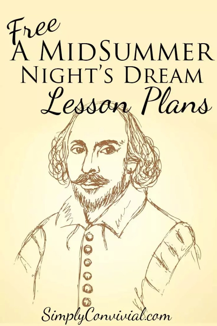 Shakespeare for Kids: A Midsummer Night's Dream » Simply Convivial