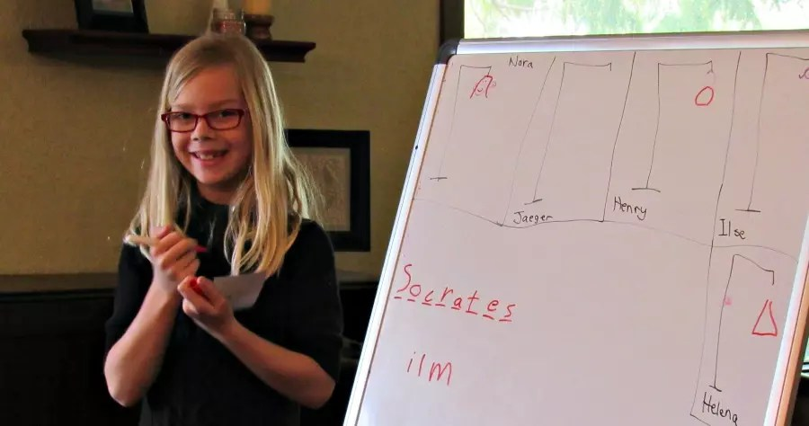 Hangman is a great review game to play with your homeschool class instead of comprehension tests or pop quizzes. Make review fun. Make them do the work.