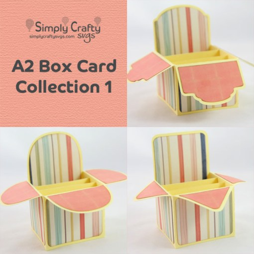 A2 Box Card Collection 1 SVG File