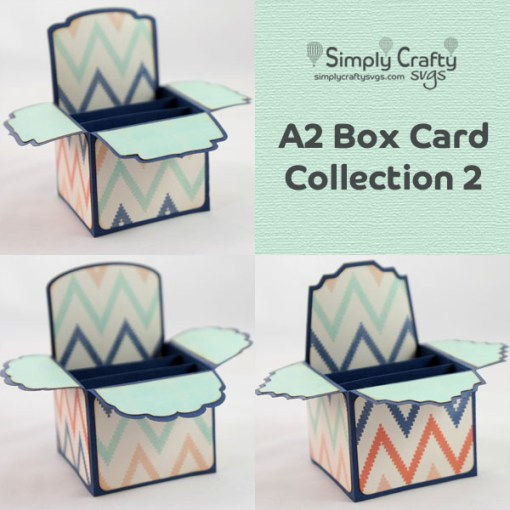 A2 Box Card Collection 2 SVG File