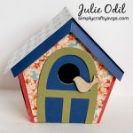 Spring Bird House By DT Julie