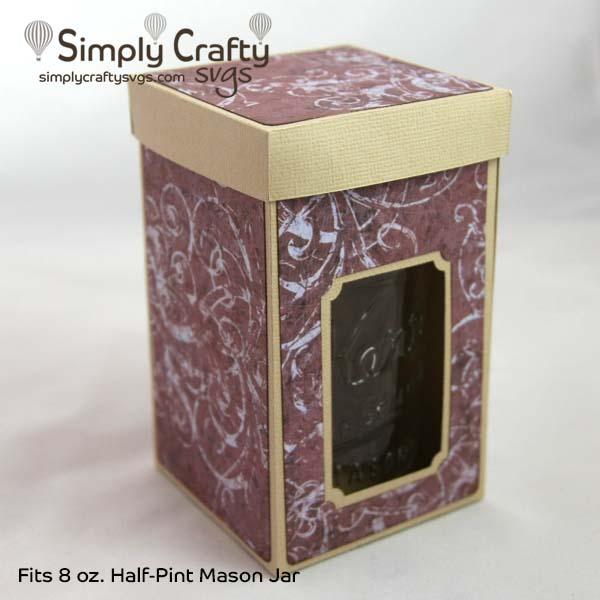 Half-Pint Mason Jar Box