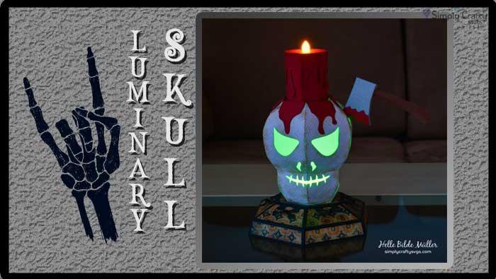 Luminary Skull by DT Helle