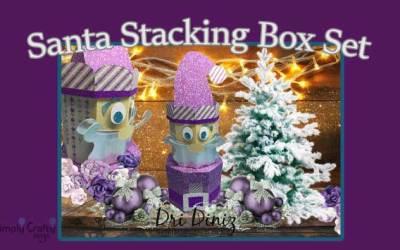 Santa Stacking Box Set by DT Dri