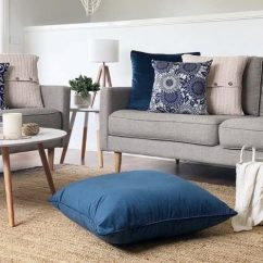 Cushions Living Room Decor Ideas Uk Create A Coastal Look With Australia Simply Corindi Collection In Styled Scene Blue Velvet Floor Cushion