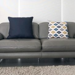 2 Cushion Sofa Snuggle Argos How Many Cushions Should You Put On A Australia Simply Grey With Navy And Patterned