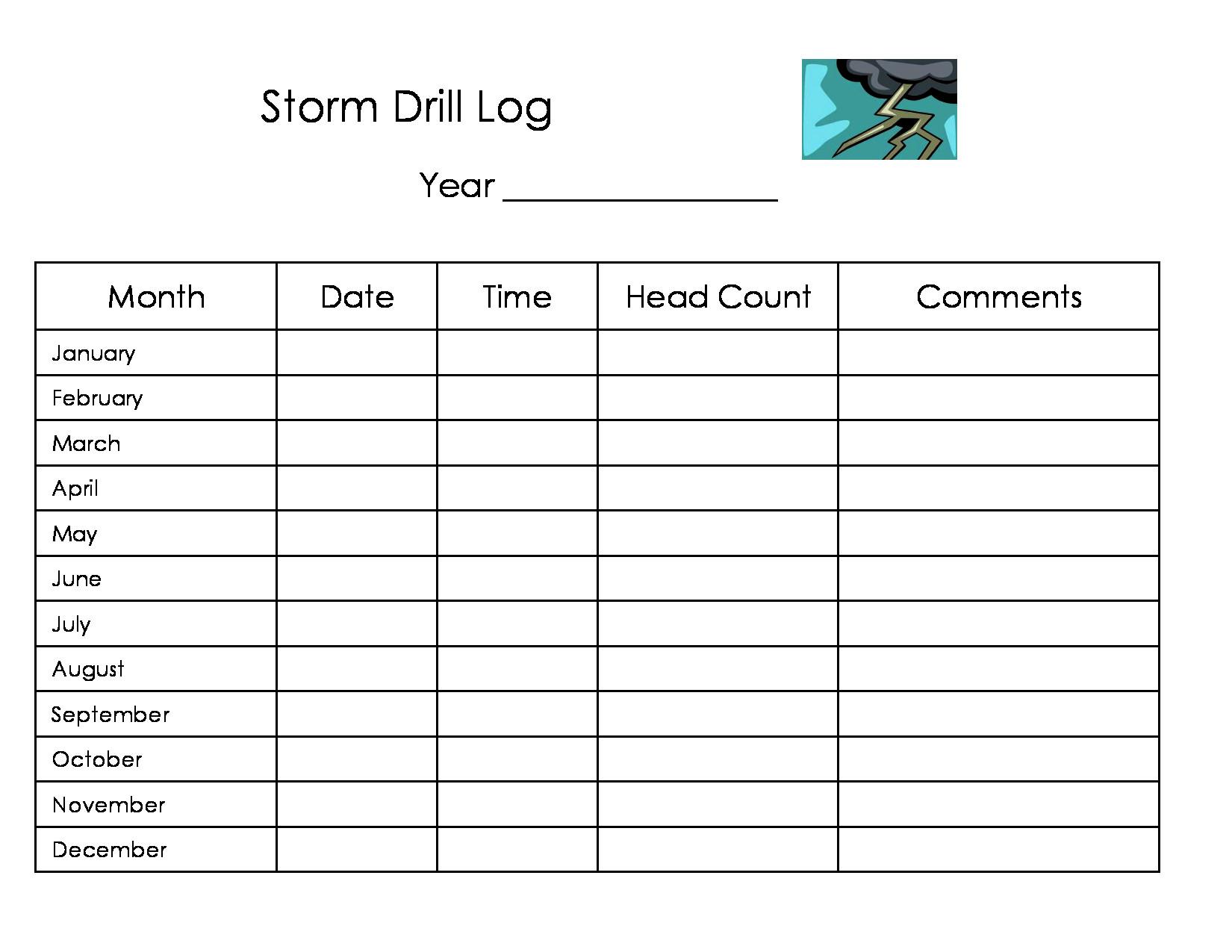 Printable Home Daycare Forms
