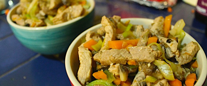 7-11: Oriental Stir-Fried Pork