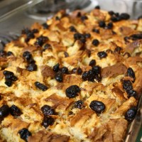 14-12: Bread Pudding with Rum Sauce