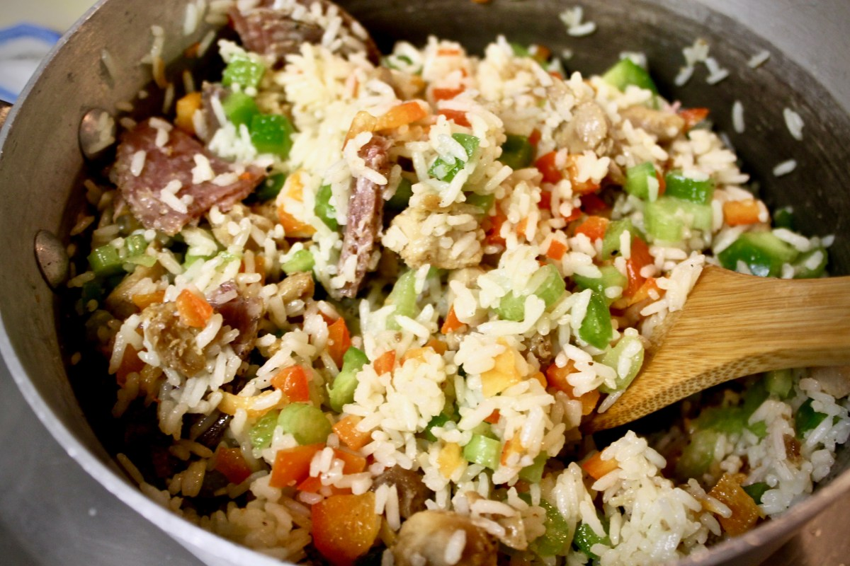 2-37: Chicken-Salami-Rice Salad