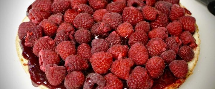 16-28: Raspberry Meringue Cake